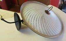 Vintage Mid Century Flying Saucer Pull Down Lamp