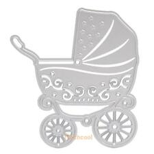 Cutting Dies Stencil Baby Carriage for Scrapbooking Paper Card Photo Album Decor