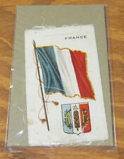 1912 Tobacco Silk//Flags and Coats of Arms//S-35////FRANCE