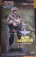 WWII Elite Force BBI British ai Paracadutisti Airborne PARAS 1/6 Figura Drago DID