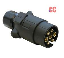 car Tow bar 12N electrics Plug hook up connection adapter lights towing MALE 12v