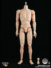 "1:6 TTL Toys City T3.0A 12"" Action Figure Body in Pale Color for Character Heads"