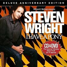 STEVEN WRIGHT**I HAVE A PONY**CD/DVD/DLX ED