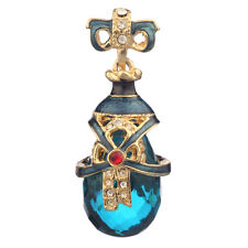 Faberge Egg Pendant / Charm with crystals 3.8 cm #PC-0586-2