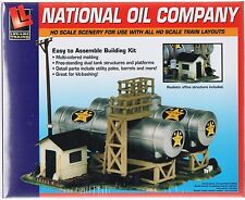 HO Scale Walthers Life-Like 433-1331 National Oil Company Building Kit