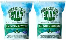 CHARLIE'S SOAP LAUNDRY POWDER 200 loads (2 bags)