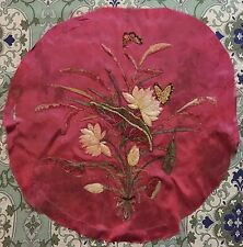 ANTIQUE FRENCH 19TH-CENTURY EMBROIDERY