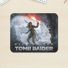 Rise Of The Tomb Raider Mouse Mat Mac PC Apple Lara Croft Gaming 5mm Thick Pad