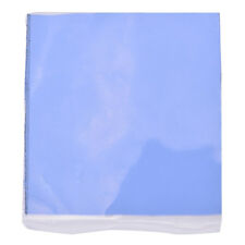 New Blue GPU CPU Heatsink Cooling Thermal Conductive Silicone Pad 100x100x1.5mm