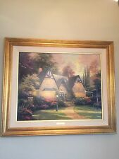 "Thomas Kinkade Limited Edition Lithograph canvas ""Winsor Manor"""