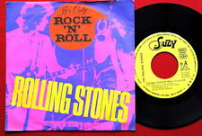 """ROLLING STONES IT'S ONLY ROCK'N'ROLL/THROUGH..1974 UNIQUE RARE EXYU 7""""PS N/MINT"""