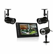 "Uniden UDS655 Wireless Surveillance System with 7"" MONITOR, 3 CAMERAS Included"