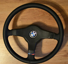 BMW E24 E28 E30 E32 E34 M5 M3 M Tech I Steering Wheel M Technic NEW Leather