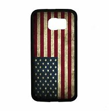 USA American Flag Grunge For Samsung Galaxy S6 i9700 Case Cover