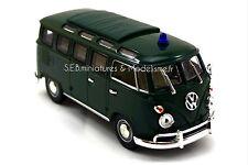 VW VOLKSWAGEN MICROBUS POLICE / POLIZEI 1/43 LUCKY DIE CAST