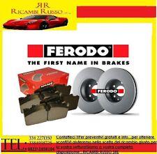 KIT DISCHI FRENO + PASTIGLIE FERODO FIAT PUNTO 1.2 8V II° serie MOD. 188 BENZINA