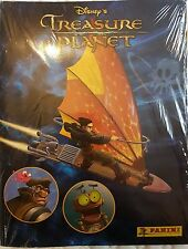 DISNEY'S TREASURE PLANET STICKER COLLECTION ALBUM & ALL STICKERS TO COMPLETE NEW