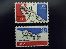 1974 C87 & C88 18c & 26c  Airmail Singles  MNH  OG