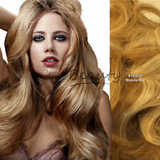 Clip in Remy Human Hair Extensions Full Head All Colours