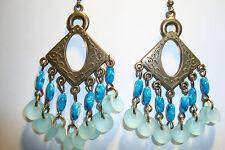 Large Long Indian~Asian Ethnic Boho Chandelier Earrings~ER114~uk seller~