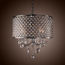 Modern Crystal Ceiling Light Pendant Lamp Lighting Fixture Chandelier 4 lights