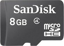 SanDisk 8GB micro SDHC Class 4 Memory Card
