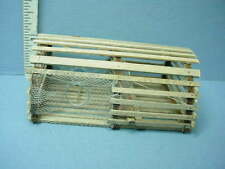 Dollhouse Miniature Maine Lobster Trap - RoundTop O12 All Thru the House 1/12th