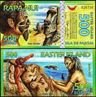 EASTER ISLAND 500 RONGO 2012 UNC 20 PCS CONSECUTIVE LOT POLYMER NEW