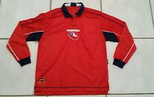 Rare Vintage UMBRO  Chile  National Team Long Sleeve  Soccer Jersey Men's XL