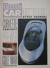 Custom Car magazine April 04/1986