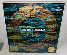 WAGNER DAS RHEINGOLD KARAJAN DEUTSCHE GRAMMOPHON GRAND PRIX 3 LP BOX NM VINYL