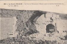 DOUAUMONT MEUSE GUERRE 14-18 WW1 309bis le fort écrite 1916
