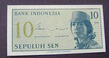 Indonesie - Indonesia 10 Sen 1964 Sepuluh Sen 1964 PR/XF - UNC P 92a