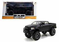 "JADA 2014 DODGE RAM 1500 PICKUP MATT BLACK OFF ROAD ""JUST TRUCKS"" 1:24 CAR 97473"