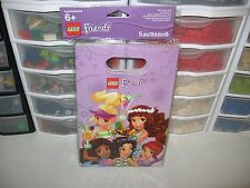 LEGO FRIENDS BIRTHDAY PARTY BAGS TOTAL OF 5 PER PACKAGE NEW
