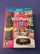Wii Party U + Black Wii Remote Plus Package for Wii U NEW