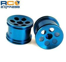 GPM Racing Losi Mini-T Blue Gunslinger Aluminum Rear Wheels SMT0605R/L06