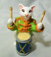 SARGENT PEPPERS CAT Decoration OOAK polymer clay unique Lonely Hearts Club Band