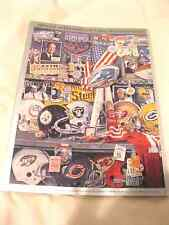 NEW YORK GIANTS vs. Bills 1990 Superbowl Program - N.Y. GIANTS 20-19 (GO BLUE)!