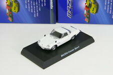 x Kyosho 1/64 Mazda Cosmo Sport White Rotary Engine Minicar Collection 2013 Ltd