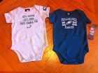 PHILADELPHIA EAGLES GREEN & GRAY INFANT TWO ONE PIECE OUTFITS  FAST SHIPPING!