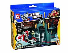 Wrestling Toy Undertaker Entrance WWE StackDown Vehicle With Figure Construction