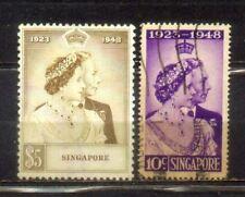 1948 Malaysia Malaya Singapore Silver Welding Set.  CV Rm 121
