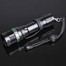 Neu 2000Lm CREE XML T6 LED ZOOMABLE Zoom Fokus Handlampe Flashlight