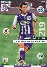 191 ABEL AGUILAR COLOMBIA TOULOUSE.FC TFC CARD ADRENALYN 2016 PANINI