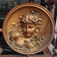 Gorgeous ANTIQUE Fireplace Fender / Surround - Circa 19th Century - Bronze/Brass