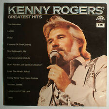 LP - Kenny Rogers - Greatest Hits -  Supraphon 1113 3009 - Vinyl