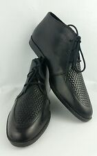 Premiere Collection Oxford 11 Black Leather Lace Up Vintage Made In Brazil