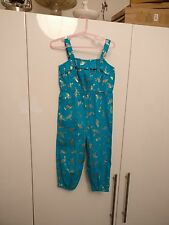 Girls Monsoon gold flamingo jumpsuit 2-3 years new with tags