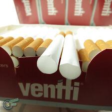 500x VENTTI EMPTY Tobacco Cigarette filter tube rolling